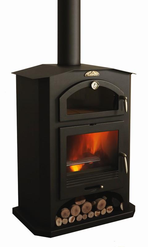 Calefacci n estufas de le a estufa de frente bronpi - Estufas de lena para calefaccion con radiadores ...
