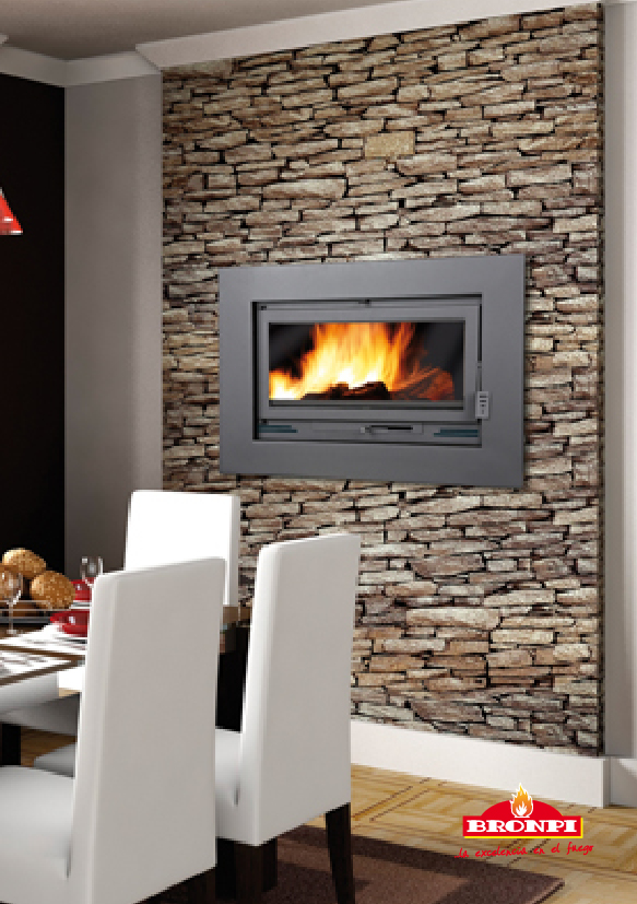 Calefacci n insertables y hogares insertable - Combustibles para chimeneas ...